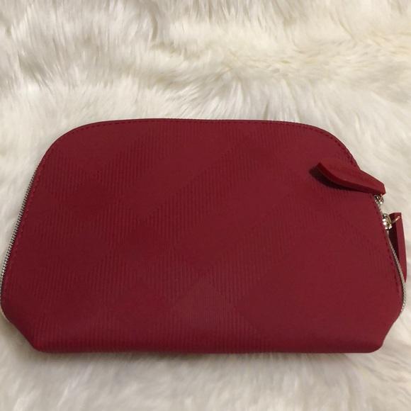 d7a64158aa47 Burberry Handbags - Burberry makeup bag with makeup samples